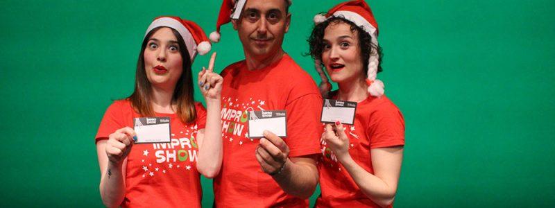 Impro Show Navidad teatro